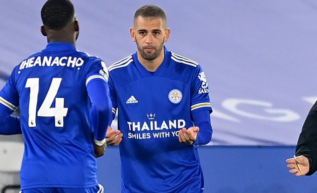 Lyon complete signing of Leicester forward Slimani