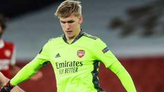 Arsenal keeper Runarsson: I'm here to challenge Leno for starting spot