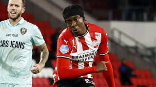 Nigeria challenge England for PSV winger Noni Madueke