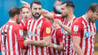 Liverpool defender Tony Gallacher in Sunderland talks