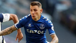 Everton fullback Lucas Digne admits some regret leaving PSG