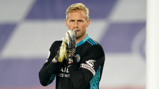 Leicester goalkeeper Schmeichel: Going second doesn't mean so much at the moment