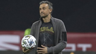 Spain coach Luis Enrique relieved to find way to win in Georgia