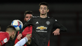 Hugill, Pellistri to see Man Utd action today against Derby