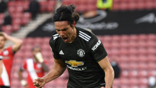 ​Ighalo urges Cavani to consider staying at Man Utd