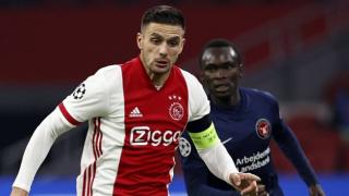 Ajax midfielder Dusan Tadic shuts down AC Milan talk