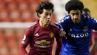 Watch: Pellistri scores again for Man Utd U23s in feisty Man City draw