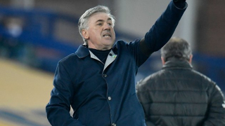 ​Ancelotti feels Everton should be higher in the table
