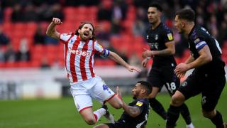 Wycombe pursuing Stoke striker Sam Vokes