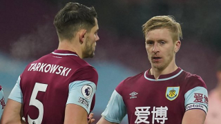 Burnley boss Dyche counting on Mee for Spurs Cup clash