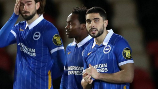 Brighton boss Potter hails Maupay form ahead of Crystal Palace clash
