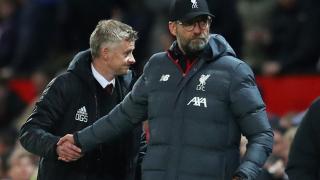 Watch: Liverpool boss Klopp insists facing Man Utd 'not about Prem leadership'