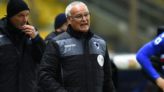 Sampdoria coach Ranieri happy with victory over Udinese