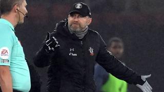 Southampton manager Hasenhuttl laments 'unlucky' Leicester winner