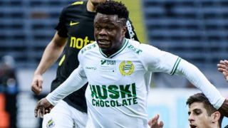Man City, Leicester scouts check on Allsvenskan African pair Amoo and Otieno