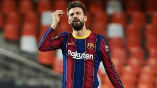 Barcelona defender Pique lost rag with 'fatty' Suarez during Atletico Madrid showdown