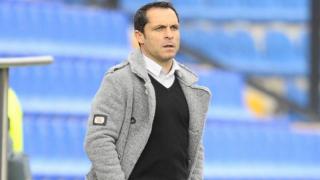 Jandro Orellana training away from Barcelona as contract talks continue