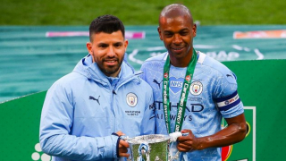 Watch: Aguero talks Barcelona ambitions - and hopes of Messi staying