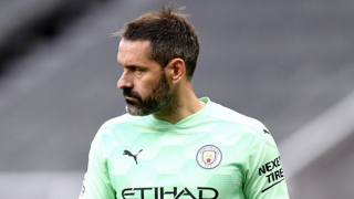 Watch: Guardiola admits Man City players delighted for Carson after winning debut