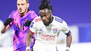 Burnley launch  bid for Lyon midfielder Maxwel Cornet