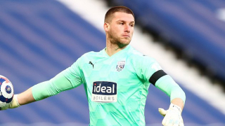 Arsenal to rival West Ham for West Brom keeper Sam Johnstone