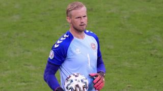 Southampton defender Vestergaard slams England fans over Schmeichel laser