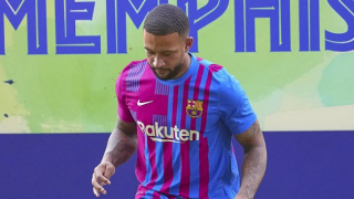 Watch: Depay presented as new Barcelona player 'Koeman wanted me here last year'