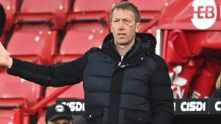 Brighton boss Potter: No reason to buy direct White replacement