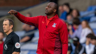 Crystal Palace manager Vieira happy working with Gallagher