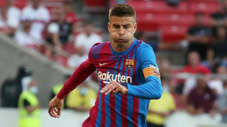 Pique hits out at jeering Barcelona fans targeting Roberto
