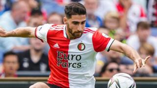 Feyenoord winger Jahanbakhsh admits leaving Brighton frustrated
