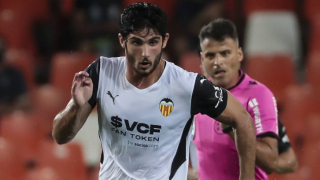 Valencia striker Guedes delighted with victory at Osasuna