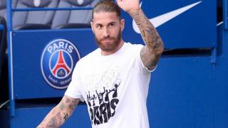 Ex-Real Madrid captain Ramos still waiting for PSG debut