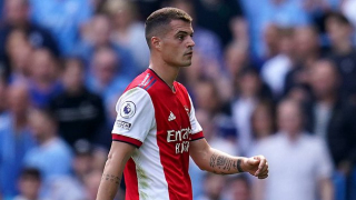 Arsenal star Odegaard sends message to Xhaka after serious knee injury
