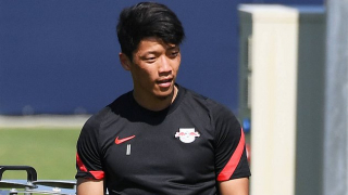 DONE DEAL: Wolves parade Hee Chan Hwang in front of Molineux fans
