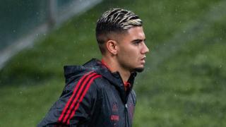 Watch: Man Utd midfielder Pereira scores first goal for Flamengo