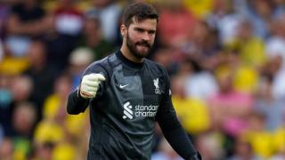 Liverpool midfielder Fabinho admits he and Alisson won't make Watford clash
