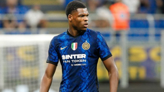 Dumfries delighted with role as Inter Milan fire six past Bologna