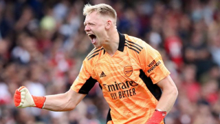 Watch: Arsenal keeper Ramsdale discusses family influence on career
