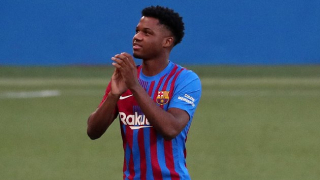 Man City offered Sterling to Barcelona for Ansu Fati