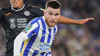 Watch: Connolly scores twice as Brighton defeat Swansea in Carabao Cup