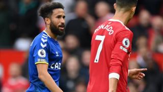 Everton attacker Townsend: I had to badger Ronaldo for his shirt