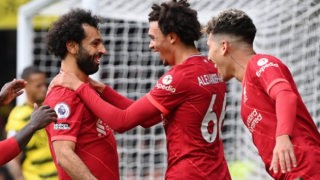 Watch: Klopp hails 'outstanding' Salah after Liverpool victory at Watford
