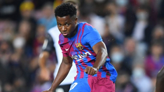 Liverpool, Man Utd made attempts to prise Ansu Fati away from Barcelona