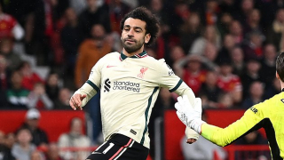Salah reveals Liverpool wanted to 'write history' after half-time against Man Utd